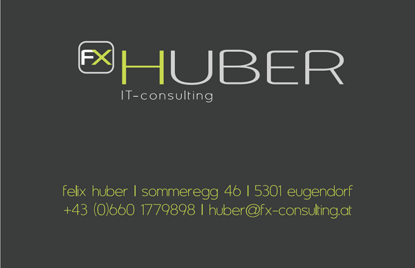 Felix Huber IT-Consulting/Qlikview